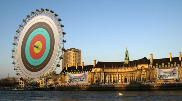 Archery on the London Eye