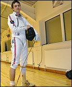 Chris Hay, fencer, Wellington Swords Club.