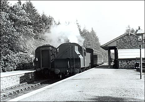 Petrockstowe Station in 1956