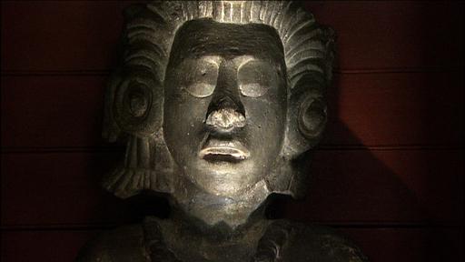 BBC - A History of the World - Object : Maya maize god statue
