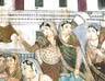 Mural of court scene, Summer Palace