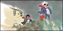 Alistair Darling cartoon