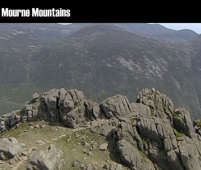 Mourne Mountains clip
