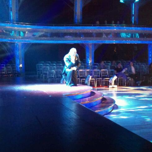 Scott Maslen in the dress rehearsal for Strictly's Halloween Special