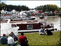Image of the Crick Boat Show