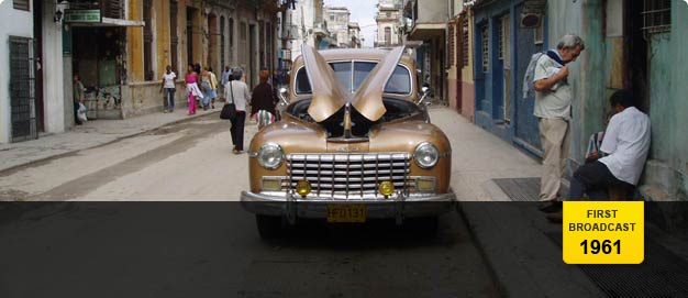 Classic car on the streets of Cuba.