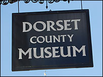 Dorset County Museum sign