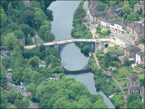 Ironbridge - photographer Norman Foster