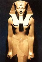 Image of a statue of Tuthmosis III