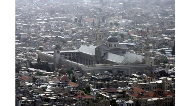 The Omayyad Mosque in the city of Damascus, Syria. Photo: Salah Malkawi/ Getty Images