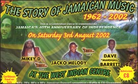 Coventry West Indian Club party poster
