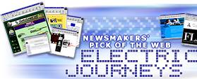 Newsmakers' Pick of the Web Electric Journeys