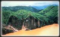 Cameroon's Lake Nyos, shortly after the 1986 overturn