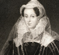 A portrait of Mary Queen of Scots, also known as Mary Stuart.
