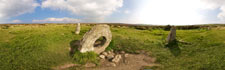Take a look at the enigmatic landmark Men-an-Tol, near Penzance