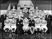 Manchester United in 1957