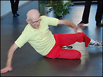 Fred Bowers breakdancing