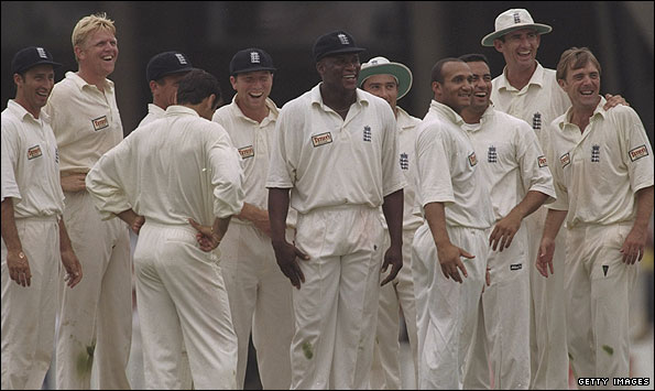 England's 1997 vintage were Ashes winners at The Oval