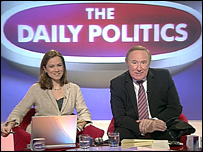 Jenny Scott and Andrew Neil