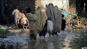 Pakistani flood survivors