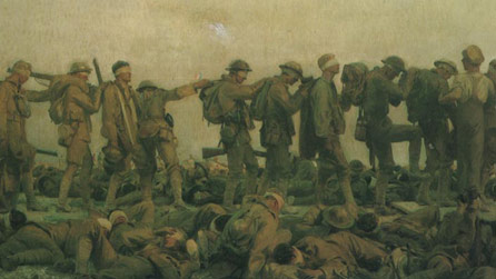 Detail of 'Gassed' by John Singer Sargent