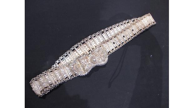 A Filigree Silver Belt