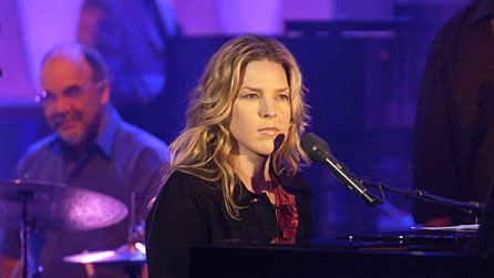 Grammy Award-winning Canadian jazz pianist and singer Diana Krall
