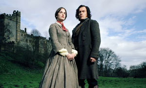 Ruth Wilson as Jane Eyre and Toby Stephens as Edward Rochester