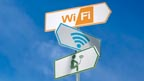 A wifi signpost