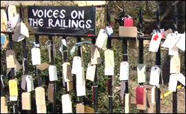 Voices on the Railings