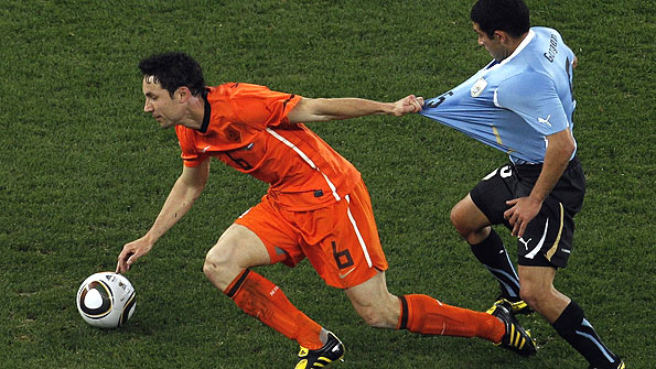 Netherlands midfielder Mark van Bommel