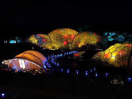 Illuminations At The Eden Project