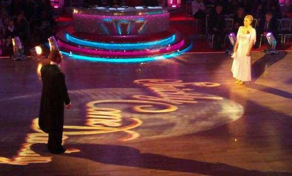 Patsy Kensit and Robin Windsor in the Strictly dress rehearsal