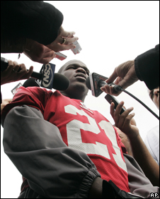 Running back Frank Gore will play a pivotal role in the 49ers offence on Sunday