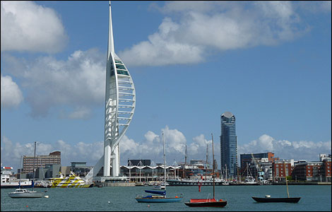 Spinnaker Tower, sent in by Peter Trimming