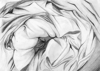 Drawing of fabric