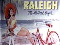 Old Raleigh poster