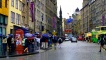 The Royal Mile in the rain