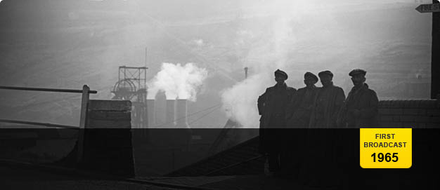 Welsh miners at Tylorstown Pit, Rhondda.