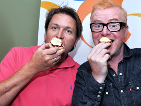 Chef James Martin on the Chris Evans Breakfast Show