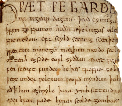 Epic poetry and beowulf
