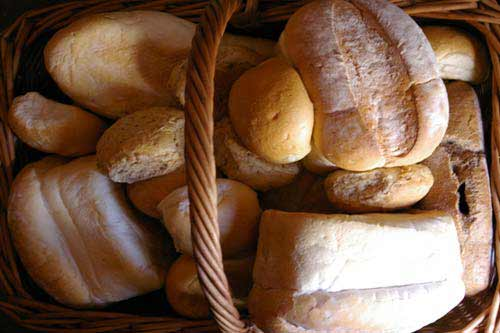 Basket of breads