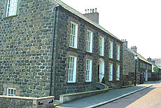 the pictureseque Moravian village at Gracehill, Ballymena