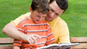 Father and son reading © 'Olga Lyubkina - Fotolia.com'