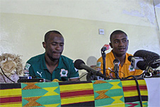 Ivory Coast football players
