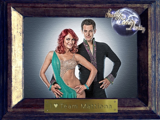 Matt Baker and Aliona Vilani - together, they're TEAM MATTIONA