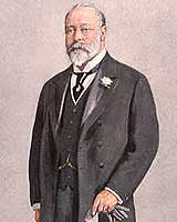 Portrait of Edward VII