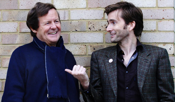 David Hare and David Tennant