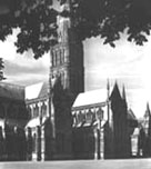 Photograph showing Salisbury Cathedral