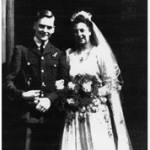Mum and Dad's Wedding, 10th April 1944, Hereford